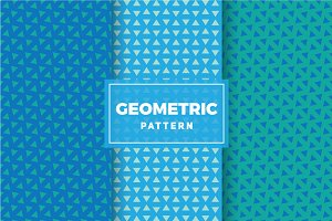 Geometric Vector Patterns #296