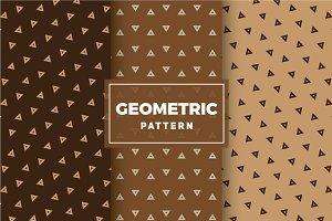 Geometric Vector Patterns #290