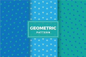 Geometric Vector Patterns #286