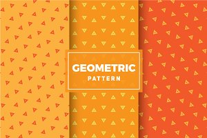 Geometric Vector Patterns #282
