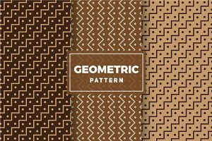 Geometric Vector Patterns #280