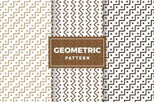 Geometric Vector Patterns #279
