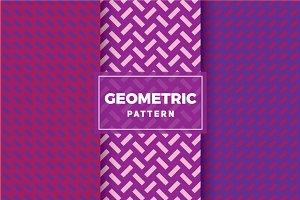 Geometric Vector Patterns #268