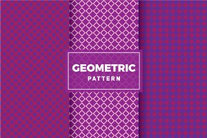 Geometric Vector Patterns #258