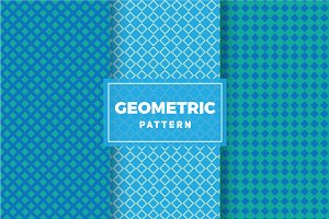 Geometric Vector Patterns #256