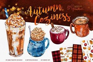 Autumn Coziness - Watercolour
