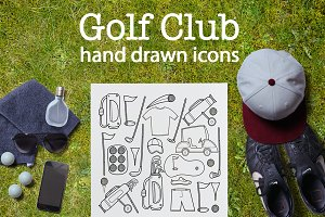 Golf Club | hand drawn icon