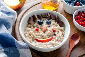 Breakfast porridge for kids