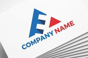 Letter E | Triangle | Logo