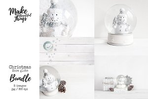 Snow globe Christmas bundle #9205