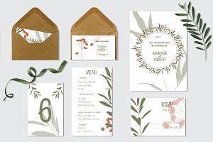 Wedding Invitation Suite!