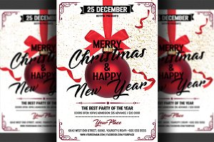 Christmas Invitation Psd Flyer