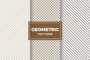 Geometric Vector Patterns #399