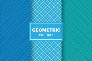 Geometric Vector Patterns #396