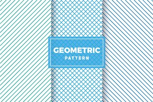 Geometric Vector Patterns #395