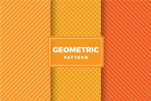 Geometric Vector Patterns #392