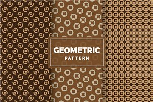 Geometric Vector Patterns #390