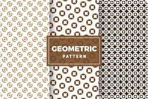 Geometric Vector Patterns #389