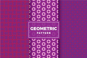 Geometric Vector Patterns #378