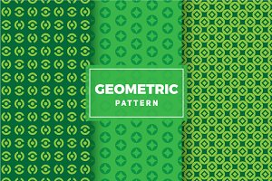 Geometric Vector Patterns #374