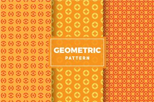 Geometric Vector Patterns #372
