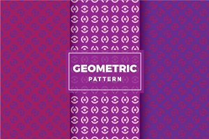 Geometric Vector Patterns #358