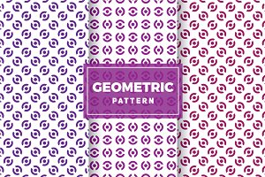 Geometric Vector Patterns #357
