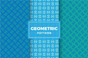 Geometric Vector Patterns #356