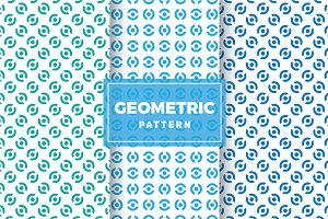 Geometric Vector Patterns #355