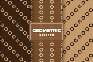 Geometric Vector Patterns #350