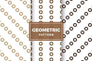 Geometric Vector Patterns #349