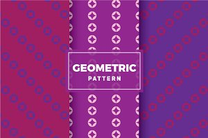Geometric Vector Patterns #348