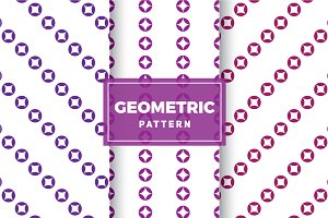 Geometric Vector Patterns #347
