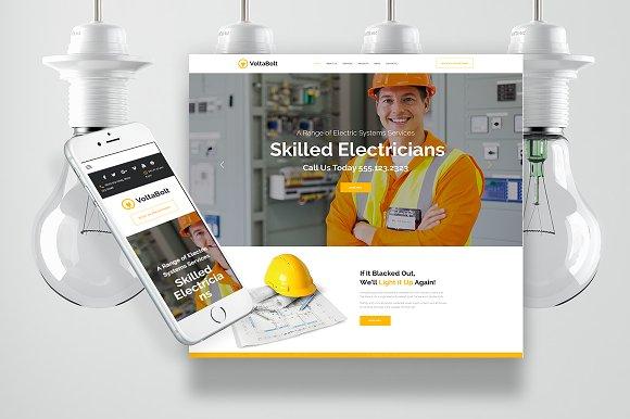 Electrician Services Wordpress Theme