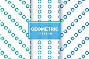 Geometric Vector Patterns #345