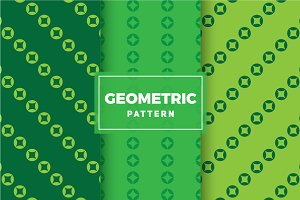 Geometric Vector Patterns #344