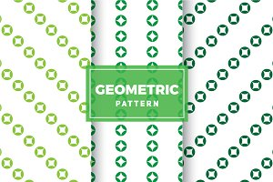 Geometric Vector Patterns #343