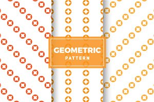Geometric Vector Patterns #341