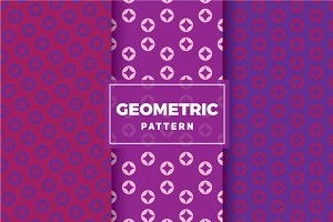Geometric Vector Patterns #338