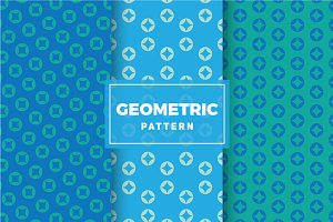 Geometric Vector Patterns #336