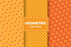 Geometric Vector Patterns #322