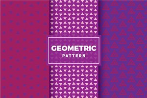 Geometric Vector Patterns #318