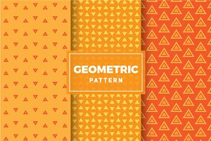 Geometric Vector Patterns #312
