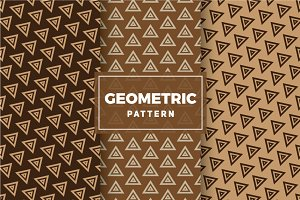Geometric Vector Patterns #310
