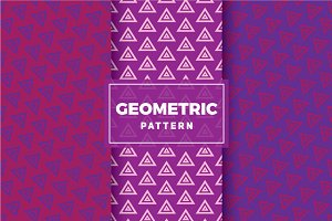 Geometric Vector Patterns #308