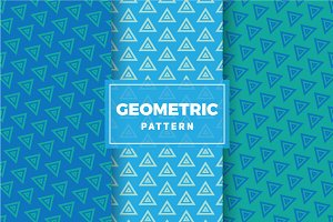 Geometric Vector Patterns #306