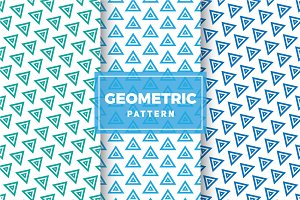 Geometric Vector Patterns #305