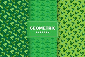 Geometric Vector Patterns #304