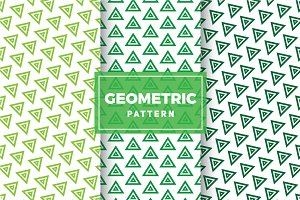 Geometric Vector Patterns #303