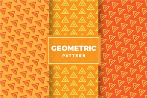 Geometric Vector Patterns #302